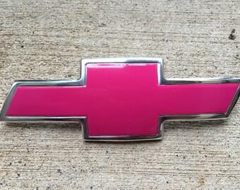 Carbon Fiber Vinyl Wrap for Chevy Bowtie Badge 5 colors :