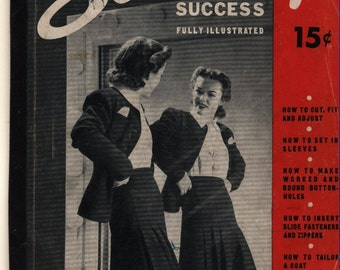 Short-Cuts to Sewing Success - ©1940