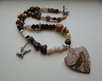 Romantic & Whimsical Bird Necklace