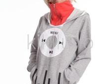 Unisex Kagerou Project Tsubomi Kido Anime Music coat Jacket Hoodie Cosplay Hoody