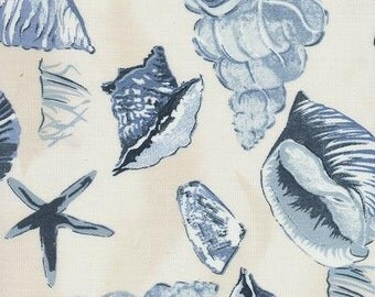 Sea Shell Porcelain Indoor Outdoor Fabric