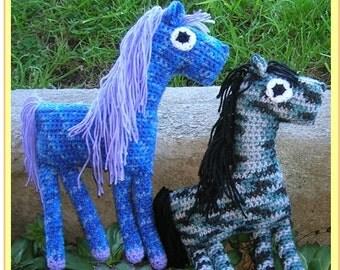 Horse Toy Crochet Pattern