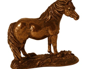 Beautiful Pony Sculpture - Pony Statue- Ponies and Horses