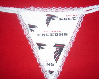 Womens ATLANTA FALCONS G-String Thong Female Nfl Lingerie Football Underwear