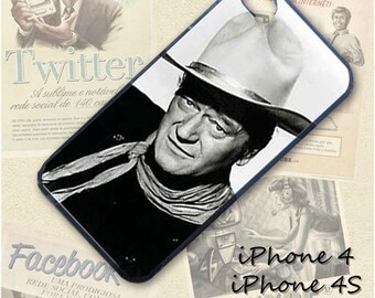 John Wayne cell phone Case / Cover for iPhone 4, 5, Samsung S3, HTC One X, Blackberry 9900, iPod touch 4 / 052