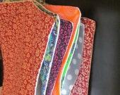 Hanging Unpaper Towels - Set of 6, with hook.