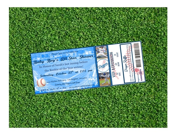 Little Slugger Baby Shower Invitations as great invitation template