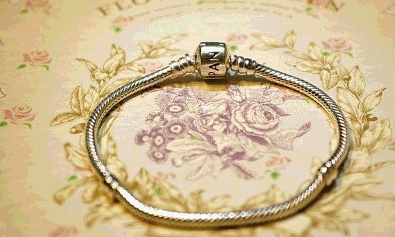 Pandora bracelet 925 silver ALE stamp classic clasp