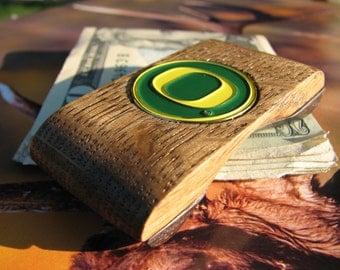 Ducks Wallet Money Clip , Ducks wallet, Oregon Money clip, Ducks money clip, Ducks Wallet, cool money clip