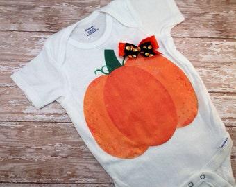 Cutest Lil Pumpkin Tshirt or Onesie