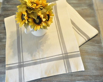 Hand painted french country table runner