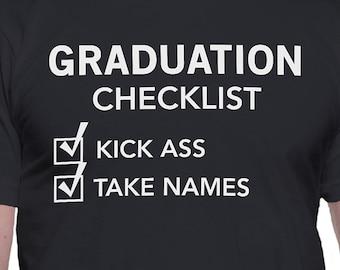 Graduation Checklist T-Shirt