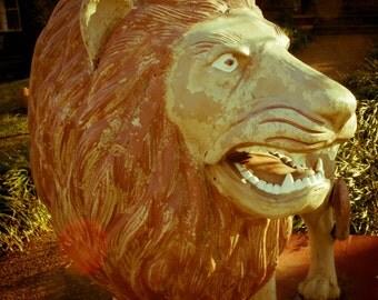 Lion Statue, Fine Art Photograph