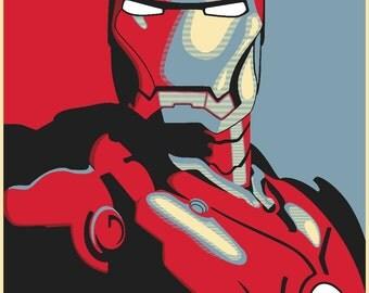 Iron Man Movie Poster 31''