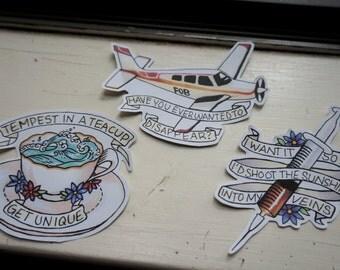 Fall Out Boy Folie a Deux Sticker Set 3