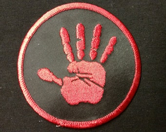 Supernatural Hand Print Patch (FREE SHIPPING)