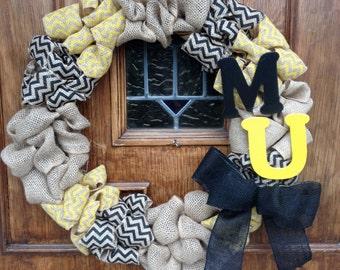 Mizzou - University of Missouri Wreath