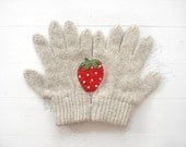 KIDS, LIMITED, Christmas Gift, Strawberry, Cream Gloves, Special Gift, Fun, Girls Gift, Xmas Gift, Holiday Gift, Gift For Girls, Children