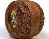 Dark Brown Crochet Tatting Thread Size 12 100% Cotton Oren Bayan Brand 28750
