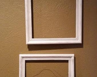 SALE!! Rustic white frames