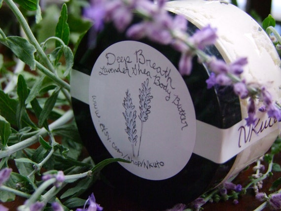 Deep Breath: Lavender Shea Body Butter