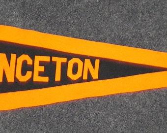 Circa 1910 Princeton University Oversized Pennant