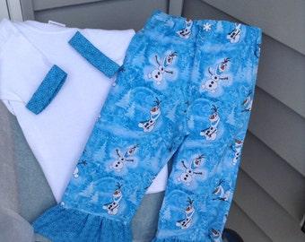 Olaf pant and shirt set