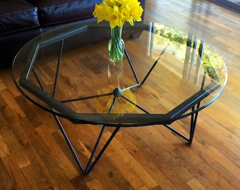 Modern Steel Coffee Table