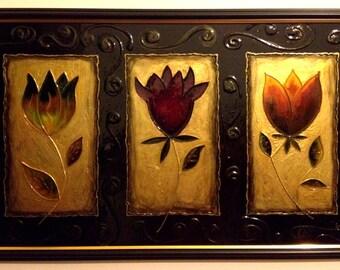 Trio of Flowers