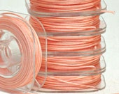 PEACH - Nylon Knotting Cord - 10 yards - 0.5mm 0.8mm 1mm