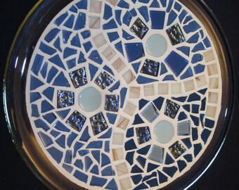 Blue Moon Mosaic Decor