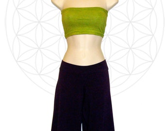 Bandeau tube top - Handmade from Organic Cotton and Hemp Jersey- Custom made for you