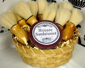 Mysore Sandalwood Shaving Soap  - Made in Martinsville