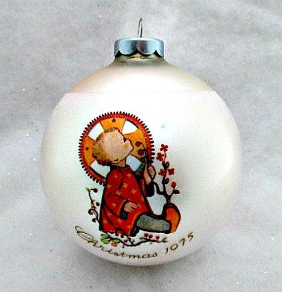 Vintage Hummel Ornament In Original Box 1975 By Vintagejunque