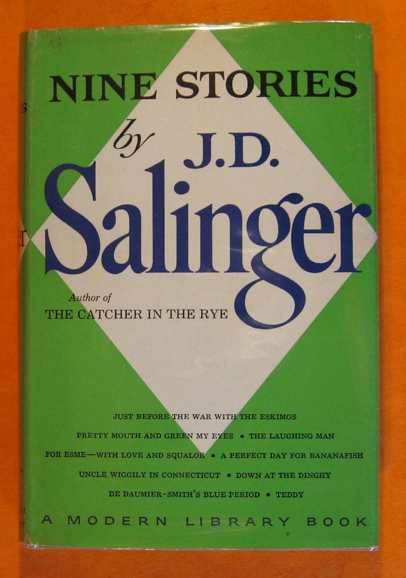 an analysis of the book nine stories by jd salinger Salinger had his first short story published in 1940 he continued to write as he  joined the army and  in 1951, salinger published his only full-length novel, the  catcher in the rye, which propelled him onto the national stage  nine stories.