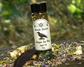 Morgan Le Fay Spell Oil - Croning Rites, Sea Witch, Faerie Queen, Isle of Avalon, Pagan, Wiccan, Celtic Goddess