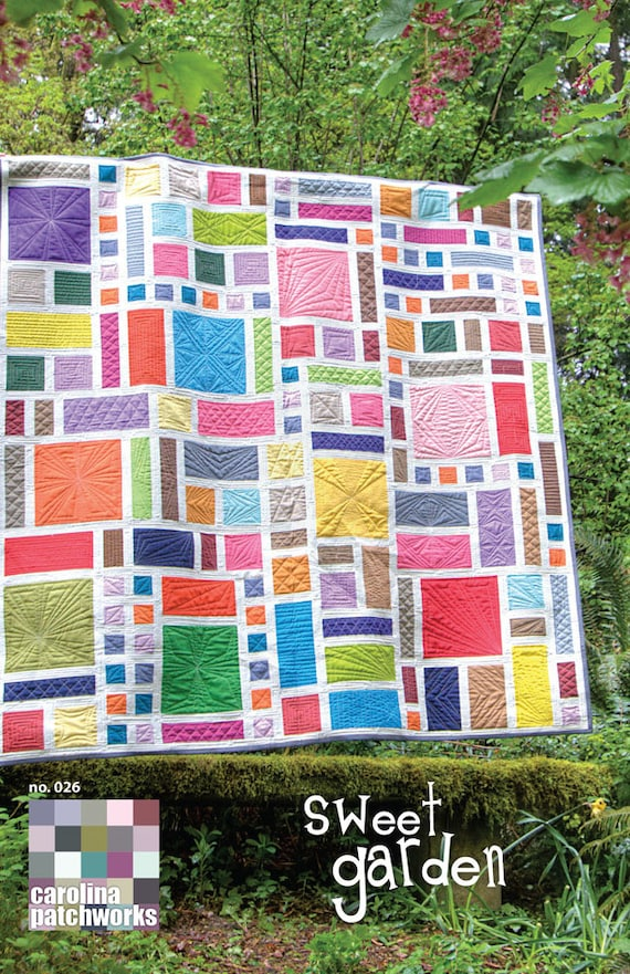 No. 026 -- Sweet Garden Quilt Pattern