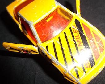 Vintage Majorette Chevy Corvette Toy Car