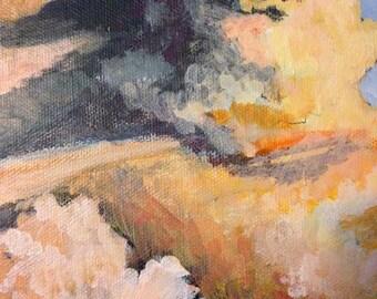 Sunset Clouds - Godzilla