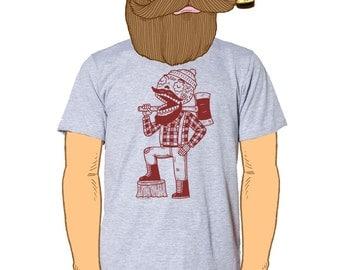Lumberjack Calavera Men's T-Shirt Small, Medium, Large, XL in 6 Colors