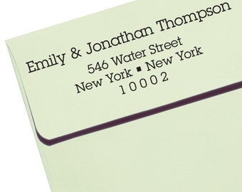 custom ADDRESS STAMP with proof from USA, Eco Friendly Self-Inking stamp, rsvp address stamp, custom stamp, custom address stamp, stamper 87