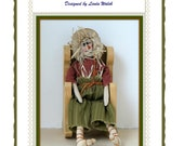 Primitive Scarecrow Andy Doll E-Pattern