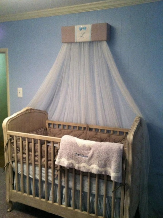 Bed canopy attached to wall bangdodo for Hanging canopy over bed