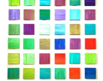 Colorful Wall Art | Wood Wall Decor | Modern Art | Wood Wall Sculpture | Custom 3D Art | Rosemary Pierce Modern Art