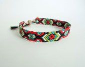 Friendship Bracelet - Bright Criss-Cross