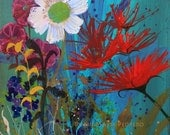 Spontaneity floral art reproduction