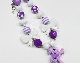 Lalaloopsy pony #20 Chunky Necklace