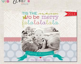 Fa La La- Custom Christmas Cards or Holiday Greeting Card