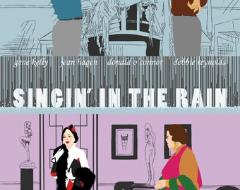 Singin' in the Rain Poster Artwork
