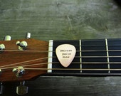 I Walk the Line Guitar Pick -  Romantic - Copper - Country -  Valentine's Day -  Guys Gift - Under 25 - For Him  - Music